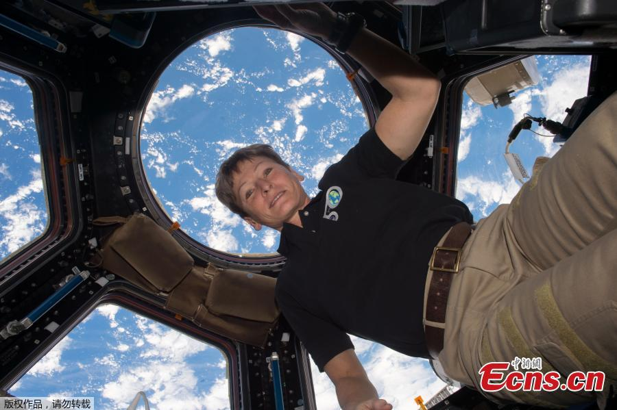 Peggy Whitson breaks record for most time in space by an astronaut